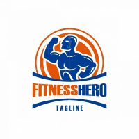 Fitness Hero Logo