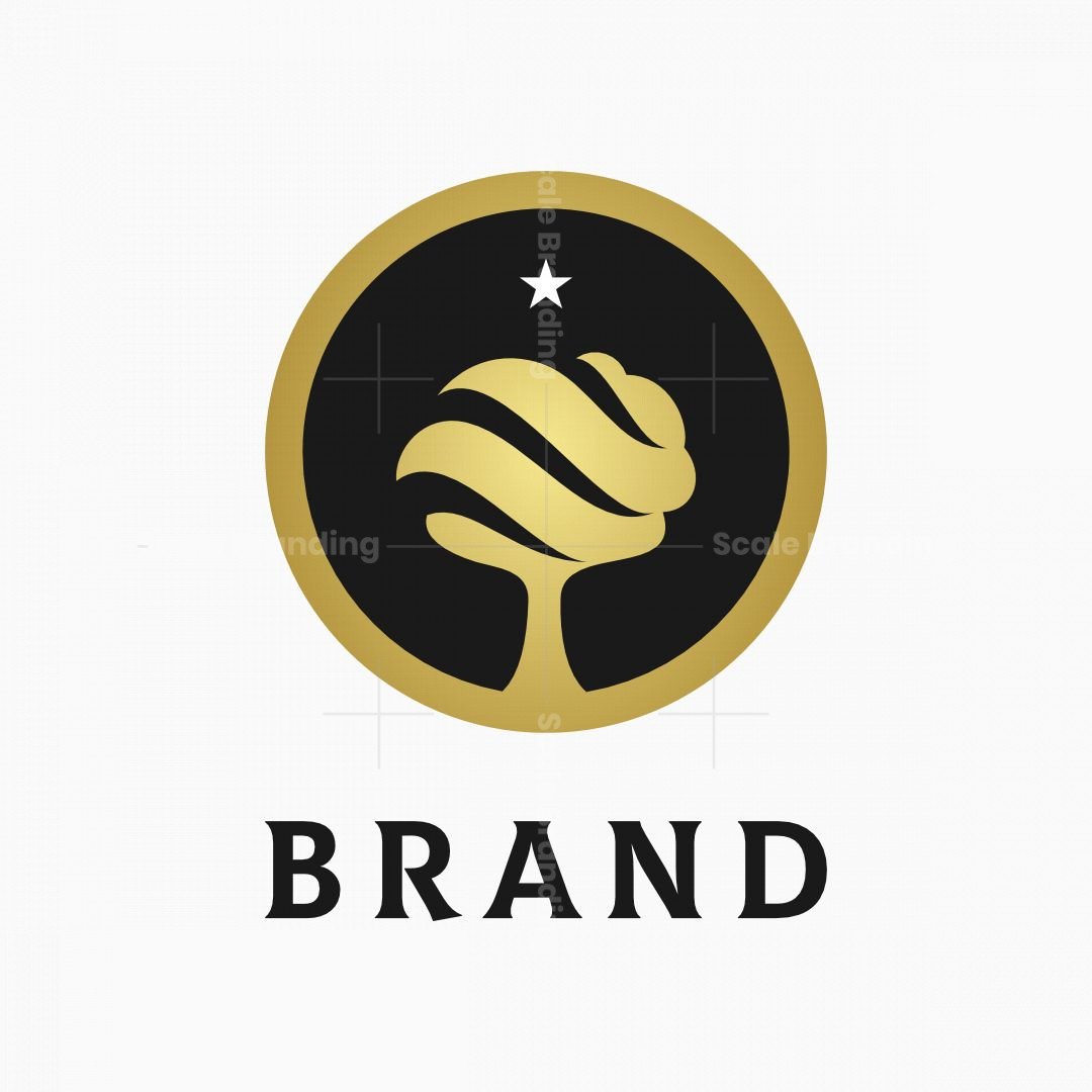 Golden Tree Wave Logo