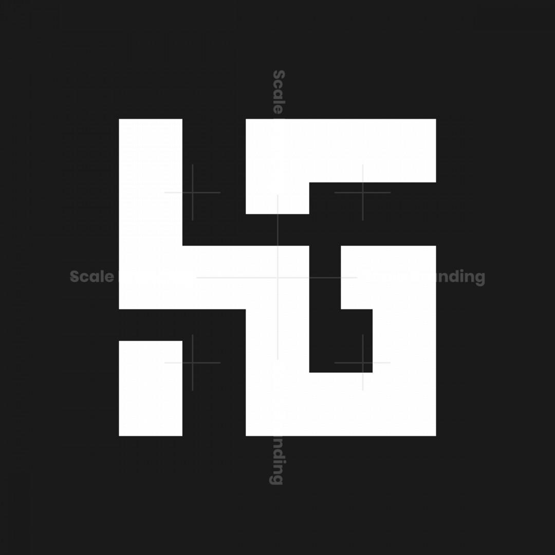 Hg Gh Initials Logo
