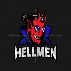 Hell Men Esport Logo