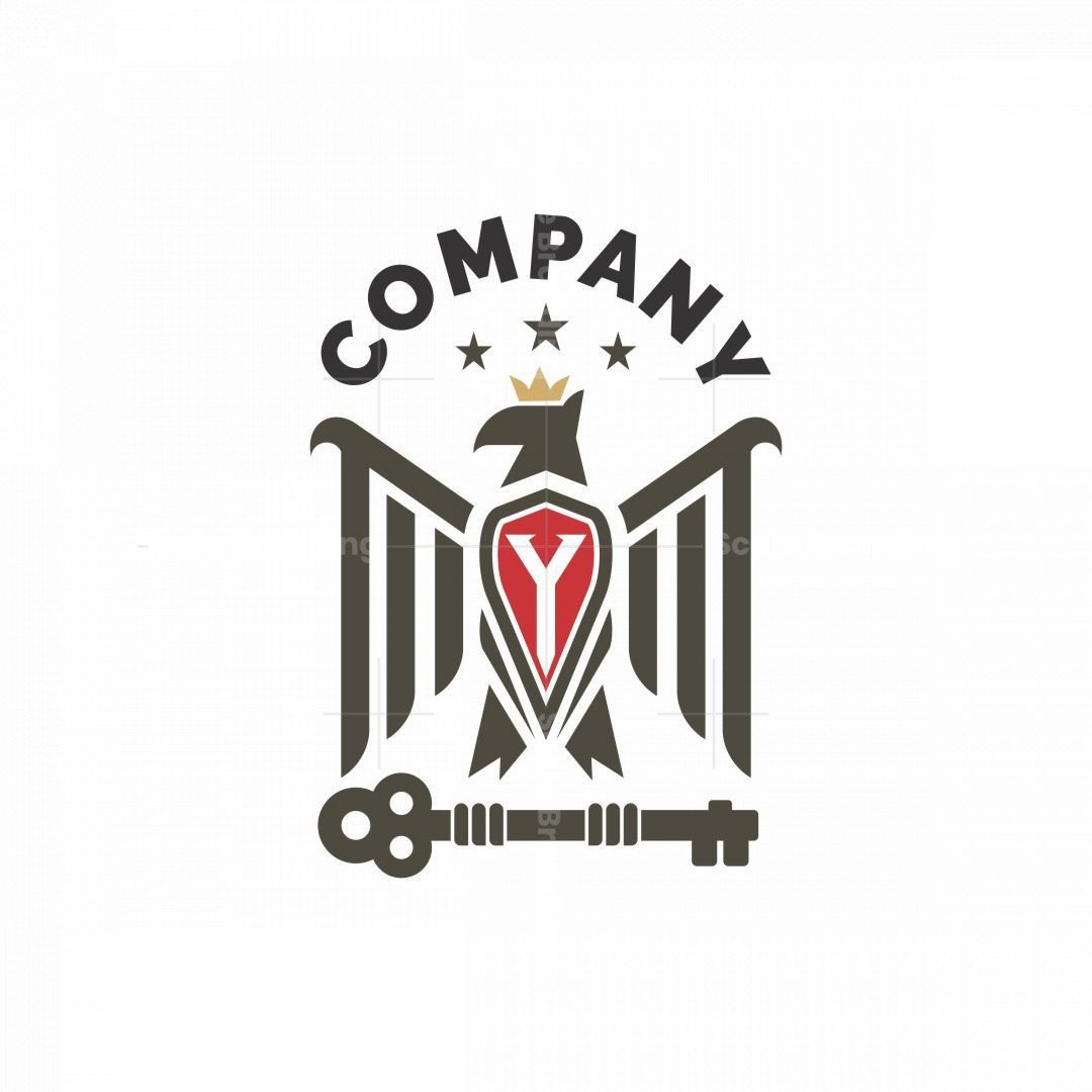 Eagle With Initial Logo