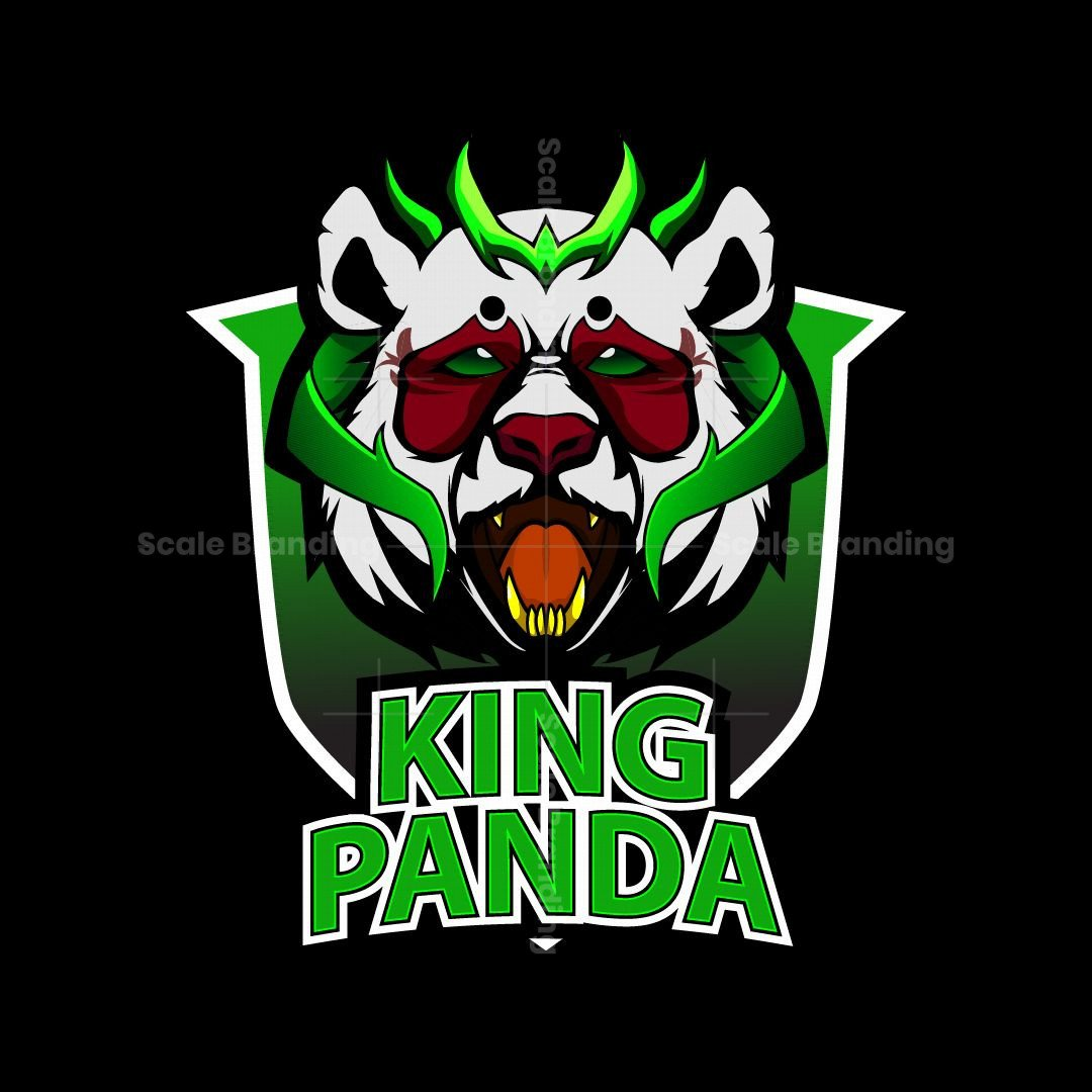 King Panda Esport Logo