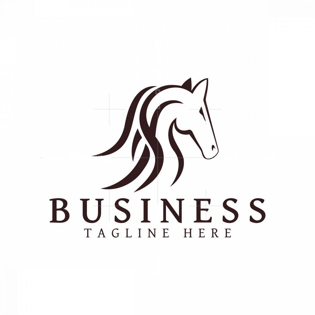 Masculine Horse Logo