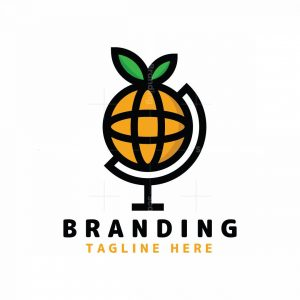 Orange Globe Logo