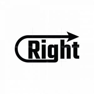 Modern Right Logo