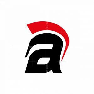 Letter A Logo Spartan Logo
