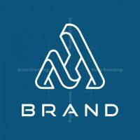 Letter Ah Logo