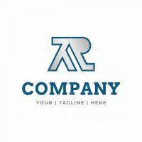 Letter Ar Ra Logo