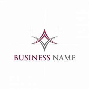 Letter Av Logo