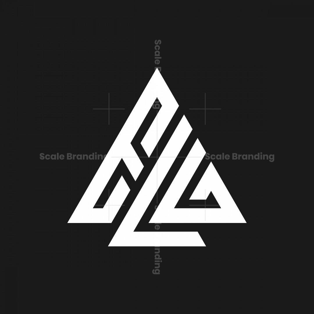 Letter Elg Monogram Logo