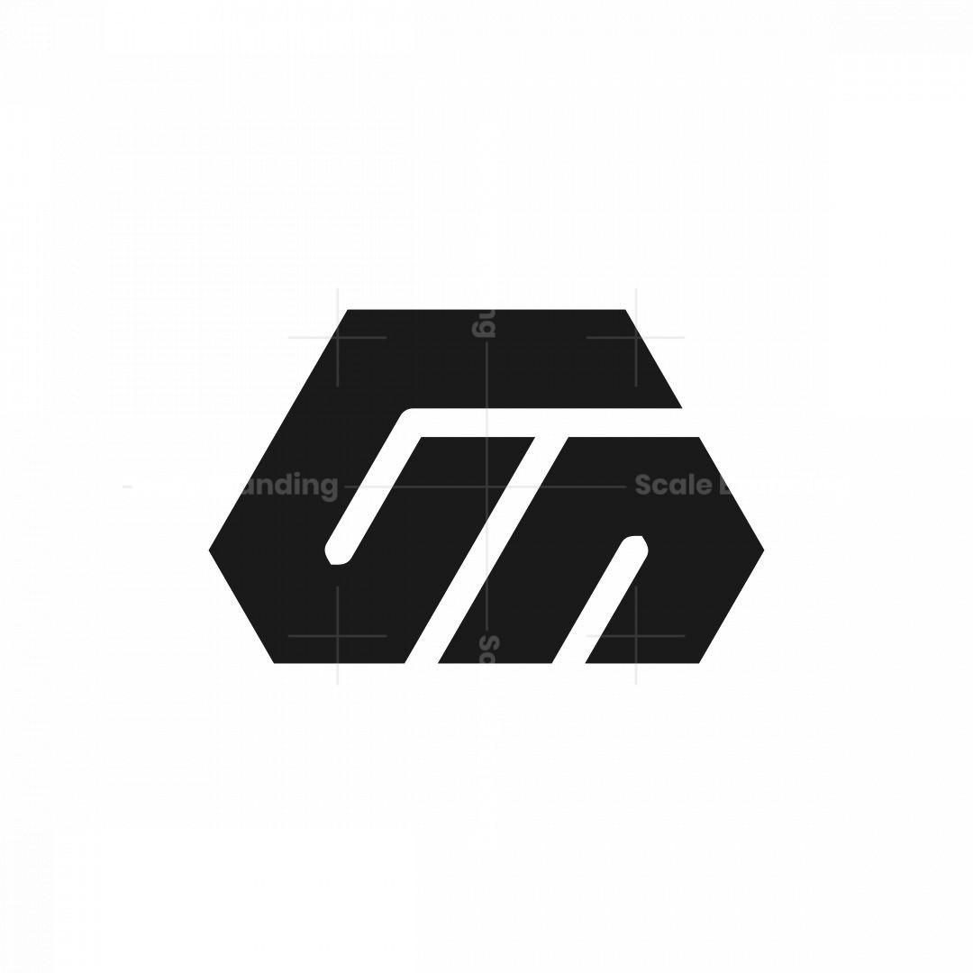 Letter Gn Ng Monogram Logo