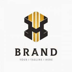 Box Or Cube Style Corporate Letter H Logo