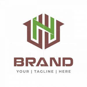 Letter N House Logo