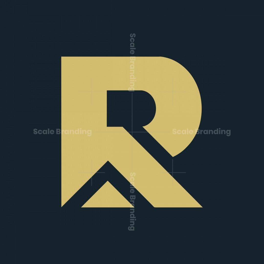 Letter R Real Estate Logo