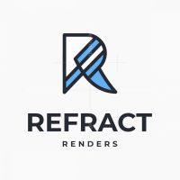 Letter R Or Rf Logo