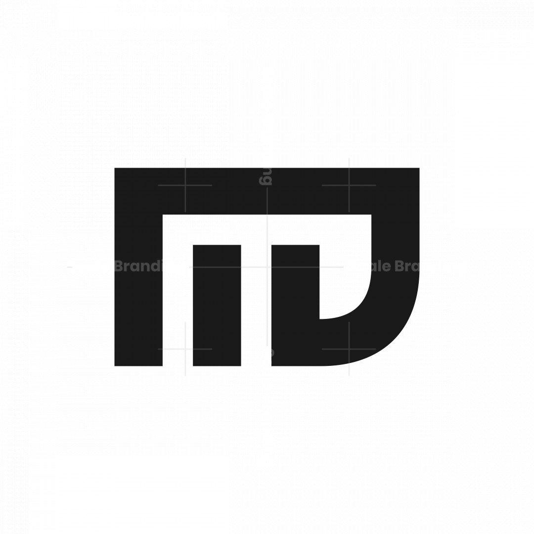 Md Dm Letter Logo