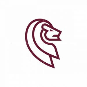 Lion Minimalist Logo
