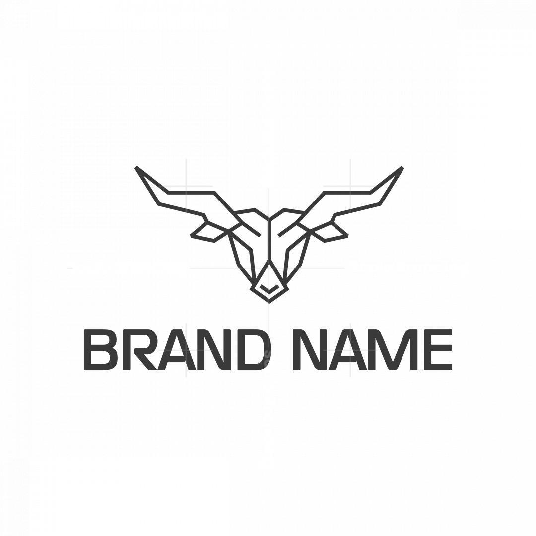 Modern Bull Logo