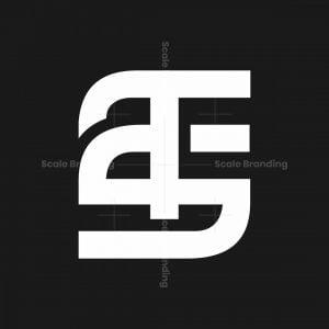 Modern Ts St Monogram Logo