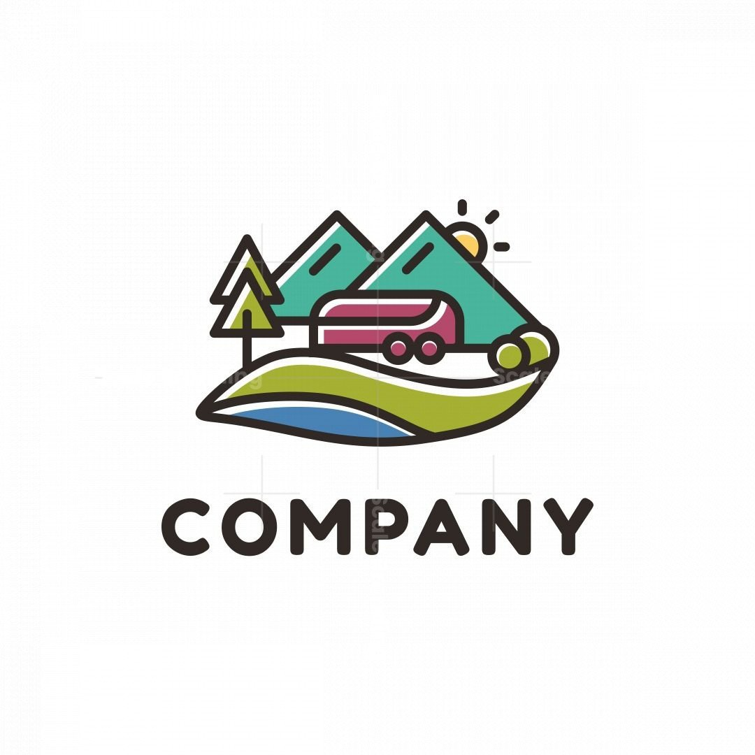 Mountain Camp Outdoor Logo