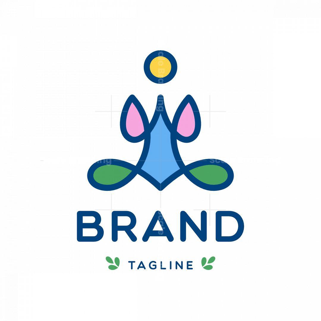 Nature Theme Yoga Logo
