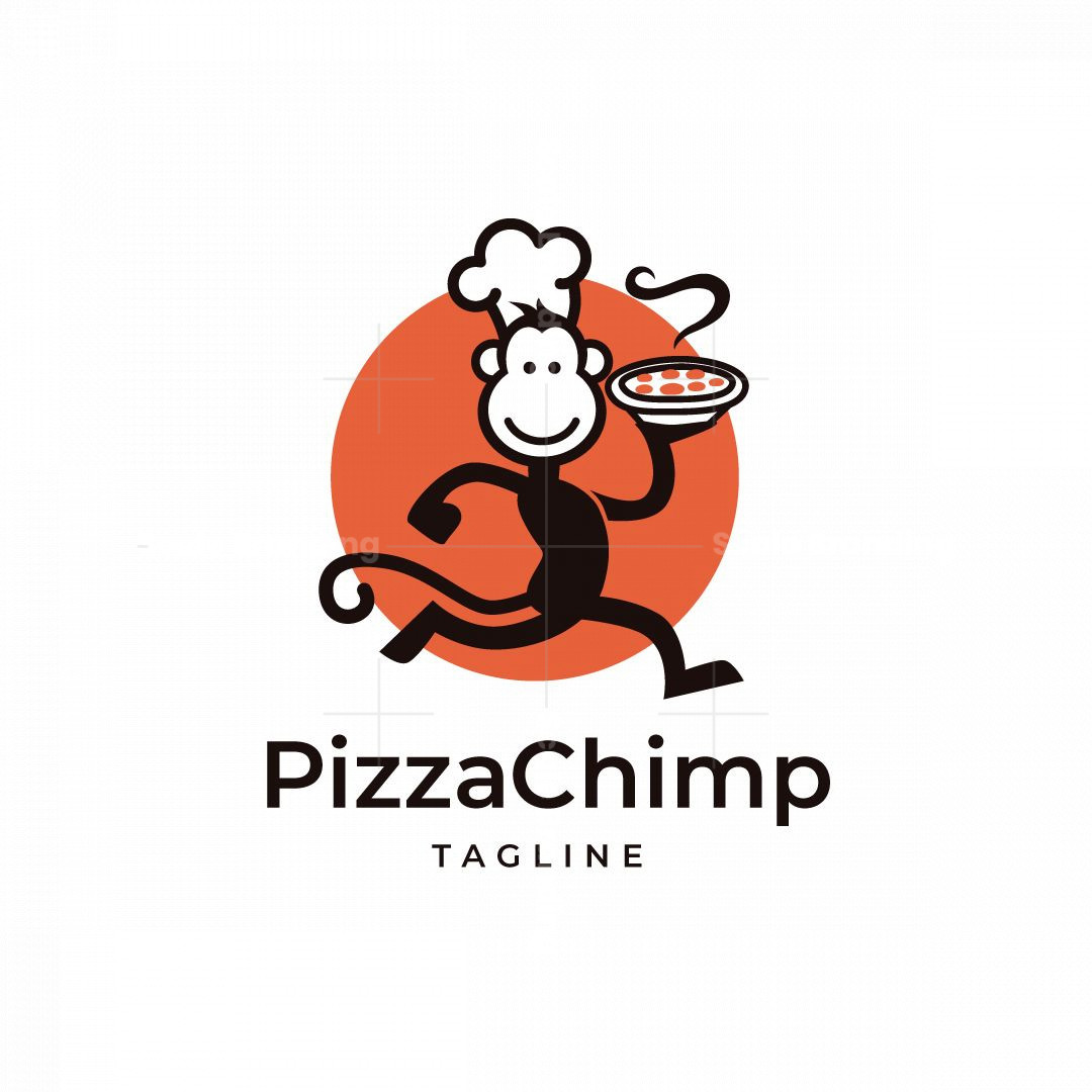 Pizza Chimp Logo