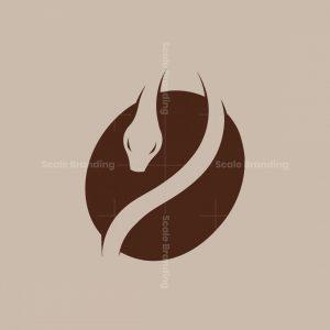 Snake Coffee Modern Logo