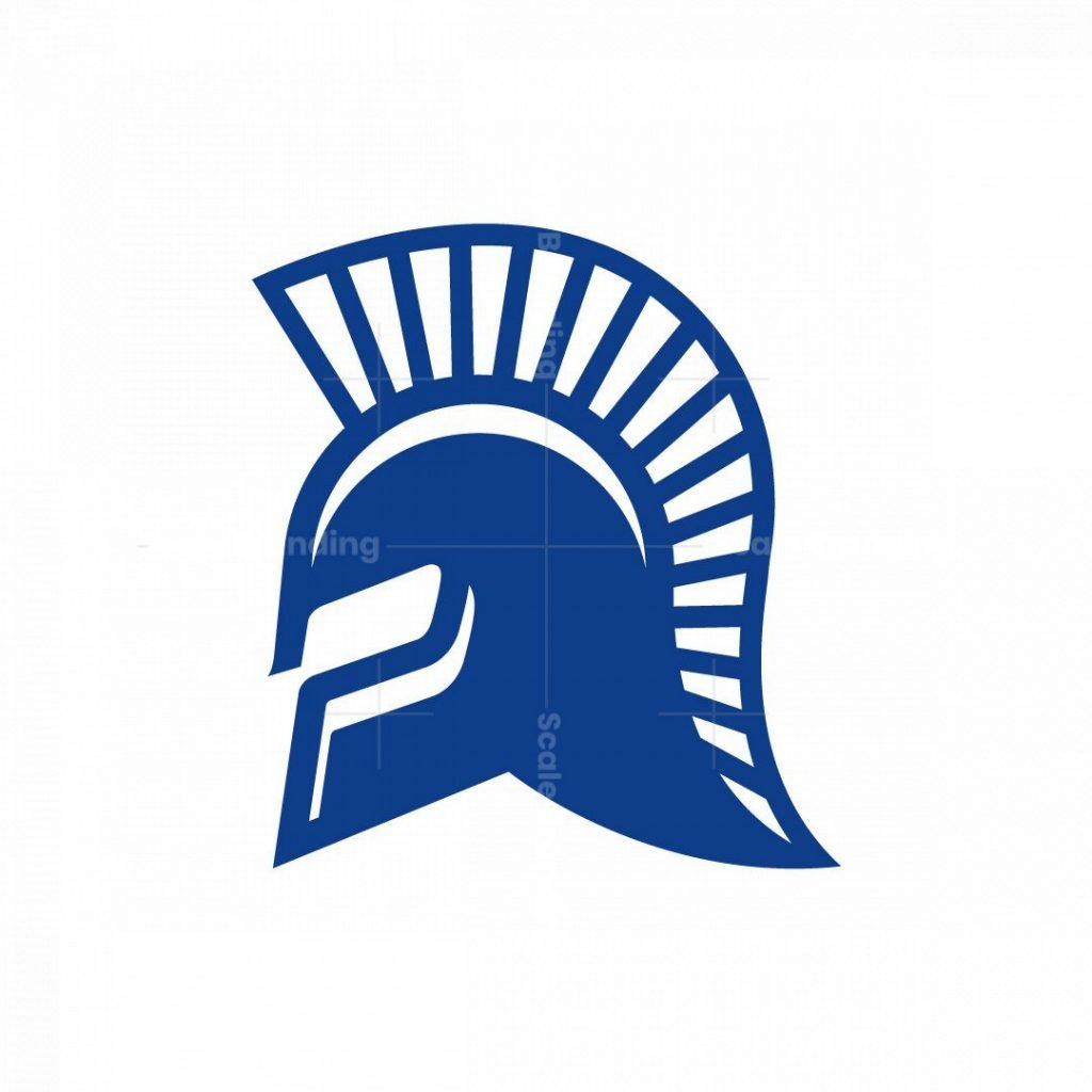 Helmet Logo Spartan Logo