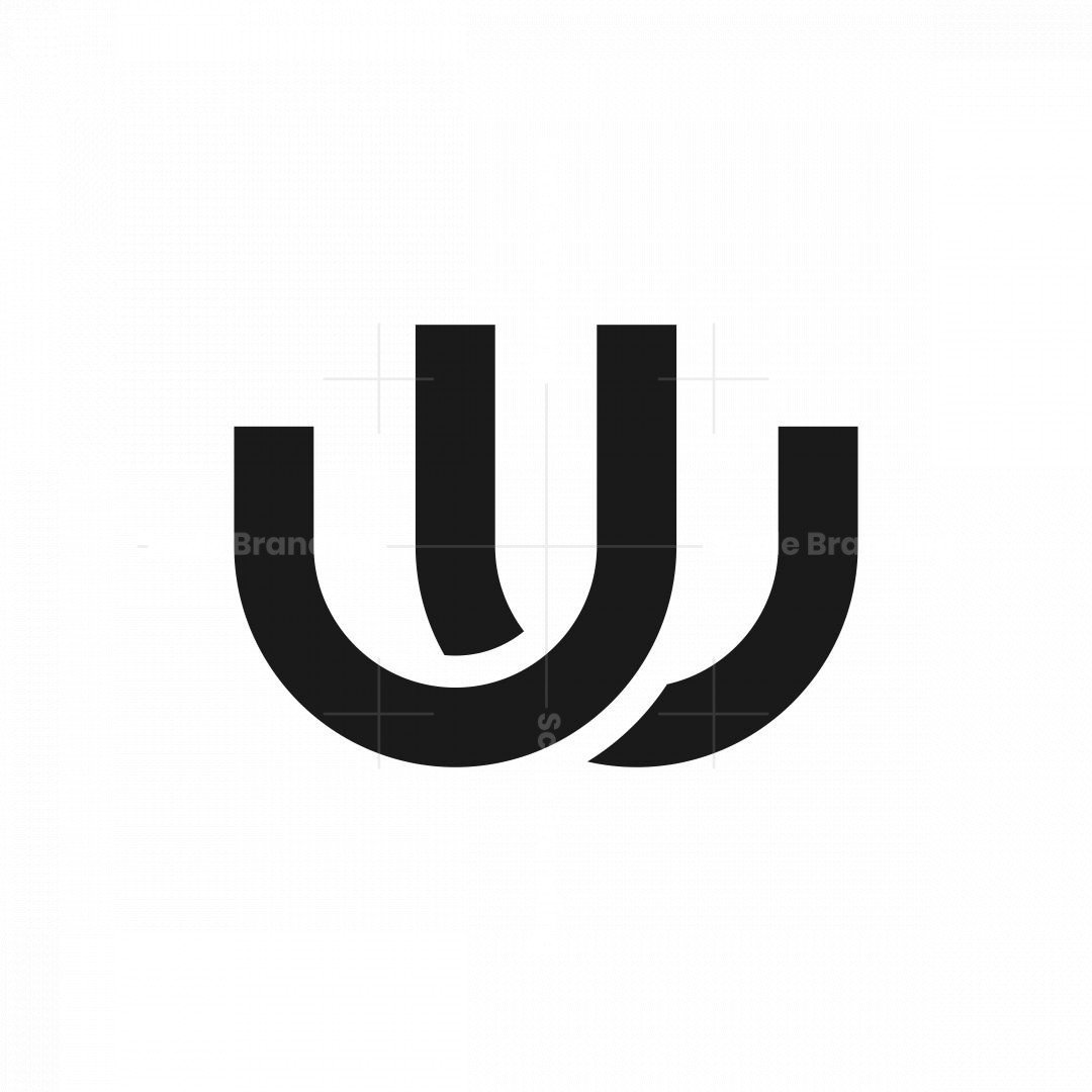 Uw Wu Monogram Logo