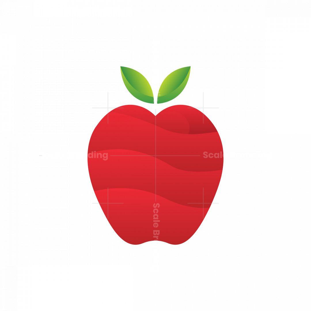 Logo Apple Overlapping