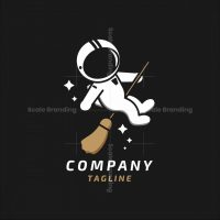 Astronaut Witch Logo