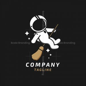 Astronaut Witch Logo