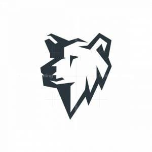 Minimalistic Bear Logo