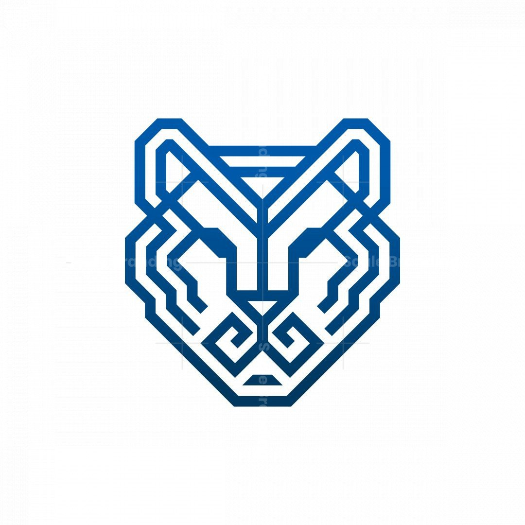 Glyph Tiger Head Logo