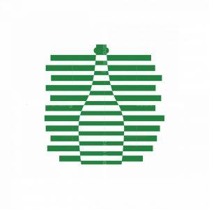Logo Bottle Abstract