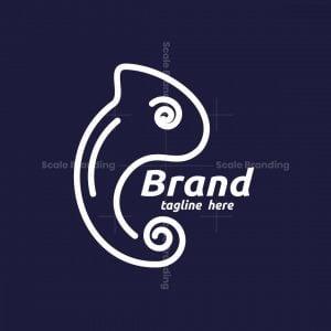 Minimal Chameleon Logo