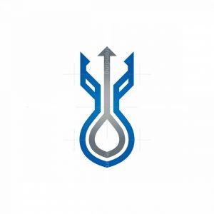 Water Trident Logo