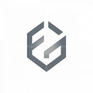 Letters F G Logo Fg Monogram Logo