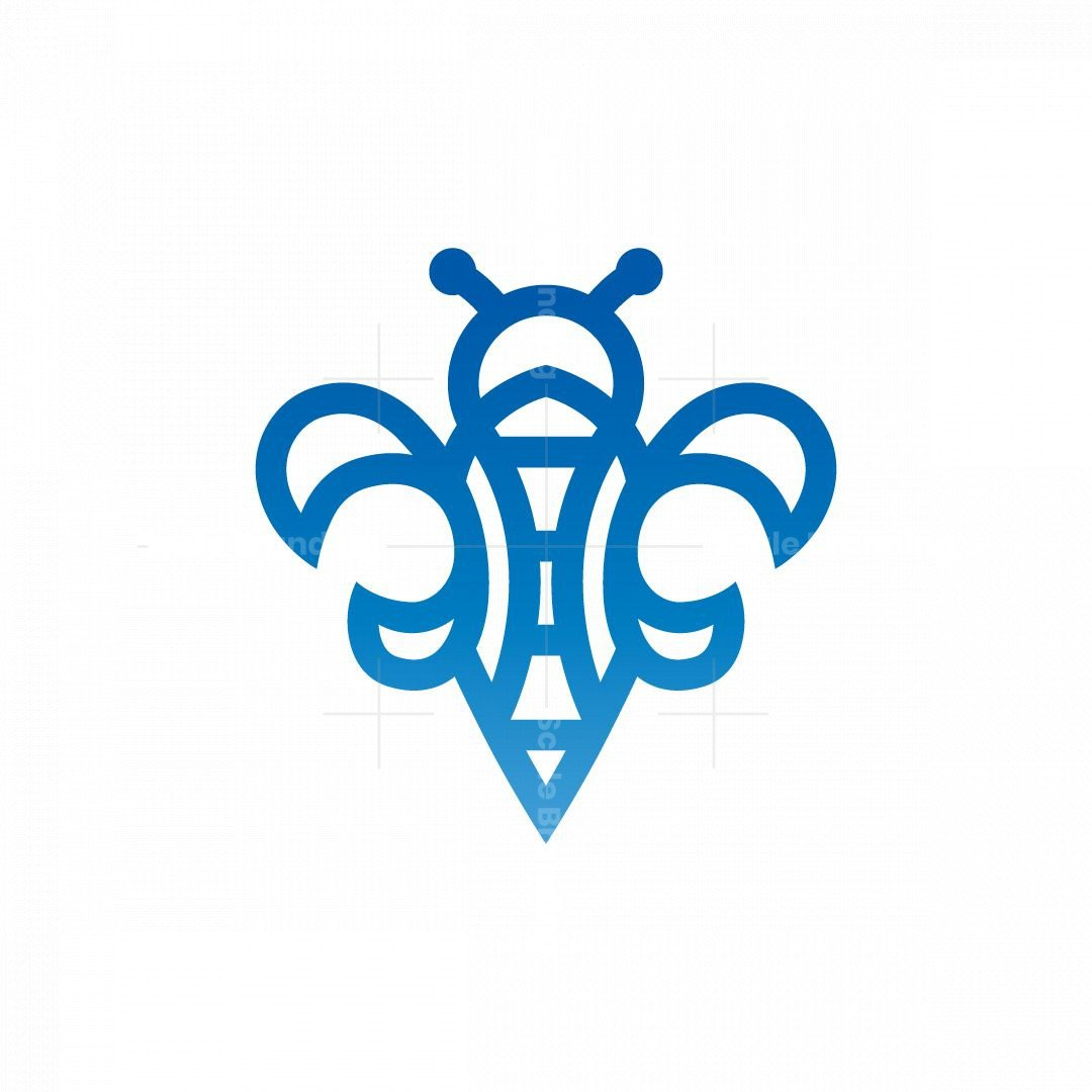 Medieval Lily Bee Logo