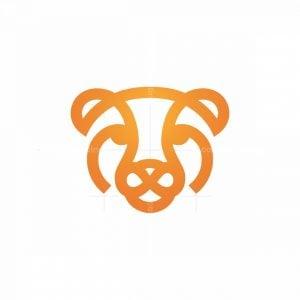 Orange Cheetah Logo Gepard Logo