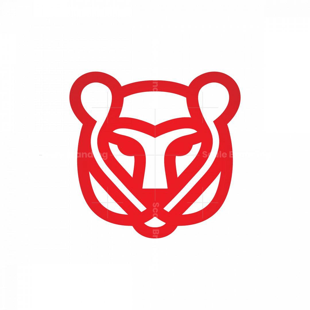 Heart Tiger Logo