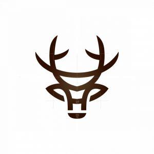 Deer Head Logo Stag Logo