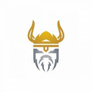 Lightning Viking Logo
