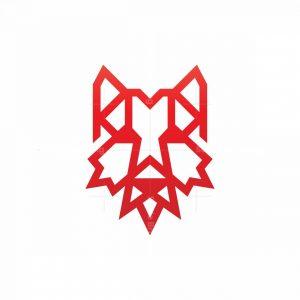 Canada Canadian Wolf Logo