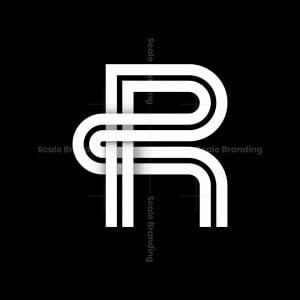 Letter R Symbol Logo