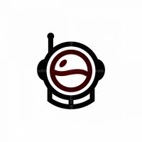 Spaceman Coffee Logo