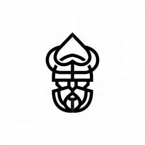 Poker Viking Logo