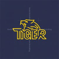 Tiger Wordmark Logo