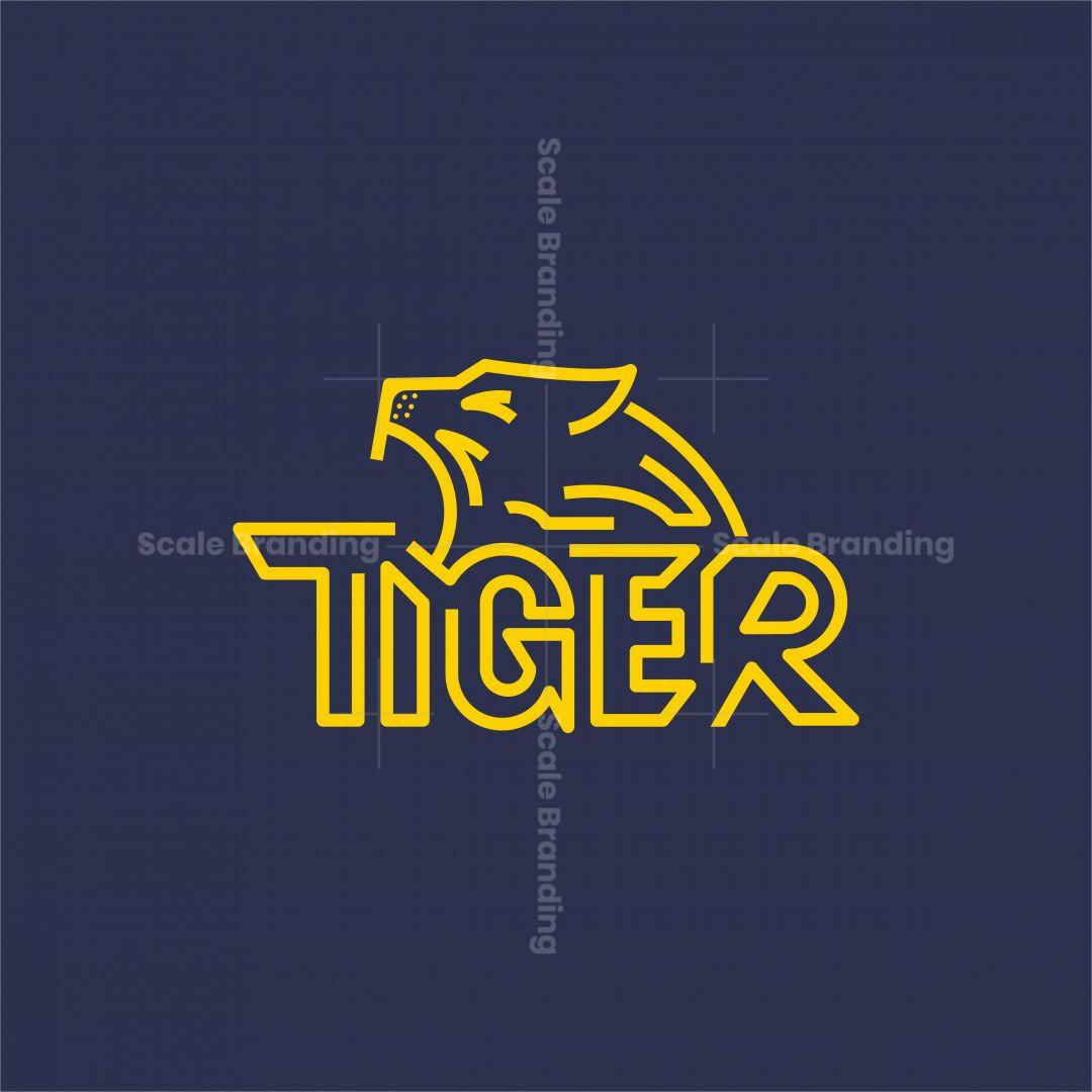 Tiger Wordmark Logo