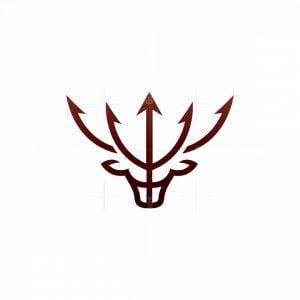 Trident Stag Logo